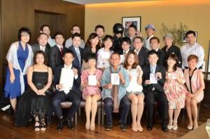 2014年5月25日 六本木ヒルズクラブで出版記念パーティー