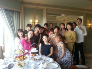 2013年8月31日 [OsunaOsuna]出版記念パーティー (ホテル椿山荘東京)